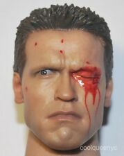 Hot Toys 1/6 Scale MMS 136 Terminator T1 T800 T-800 Figure - Head Sculpt #2