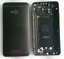 Original Backcover Akkudeckel Gehäuse Cover Deckel Schale Black HTC One M7 801e