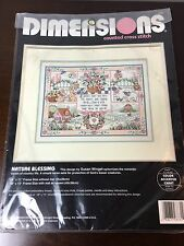 Dimensions Nature Blessing Counted Cross Stitch Open New 3731 Country Animal USA