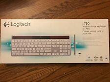 Logitech Wireless Solar Desktop Keyboard K750 for Mac - Silver New