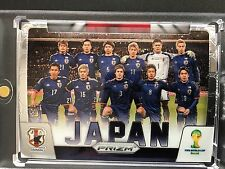 2014 team  JAPAN  # 23  Silver  Prizm Panini Soccer  World Cup