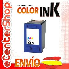 Cartucho Tinta Color HP 22XL Reman HP Deskjet 3940 V
