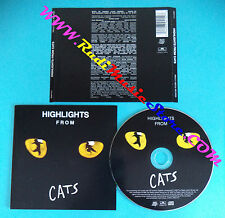 CD Andrew Lloyd Webber Highlights From Cats SOUNDTRACK no lp mc dvd vhs (OST2*)