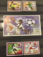 Iraq 2010 FIFA World Cup South Africa Stamps And SS MNH