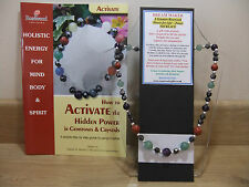 DREAM MAKER - An Holistic, hand-made 18 inch Esoteric Gemstone Necklace  & book