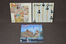 AL STEWART 3 LP LOT VINYL ALBUMS COLLECTION Year of the Cat/Time Passages/Carrot