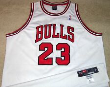 VTG AUTHENTIC MICHAEL JORDAN CHICAGO BULLS 1997-98 NIKE PRO-CUT JERSEY 50+4 SEWN