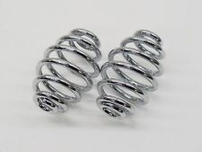 """Vintage Motorcycle 3"""" Solo Seat Springs - Indian Chief Harley Chopper Bobber"""