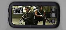 Daryl Dixon Rick Grimes Walking Dead Samsung Galaxy 3 Cell cover - Case Black
