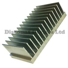 Large Aluminium Heat Sink Power Amplifier/Supply/ Transistor/IC/FET/PA (62013)
