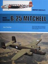 Warpaint Book Series No.73 NAA B-25 Mitchell