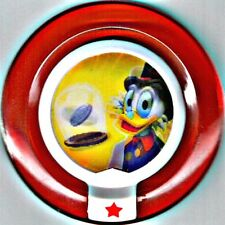 DISNEY INFINITY Power Disc SCROOGE McDUCK'S LUCKY DIME exclusive RARE Duck Tales