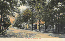 c.1908 Homes East Main St. Riverhead LI NY post card