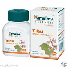 Himalaya Herbal Tulasi Tulsi Holy Basil Relieves from Cough and Cold Pure Herb
