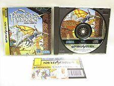 Sega Saturn PANZER DRAGOON with SPINE CARD * Import Japan Game ss