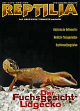 Reptilia Nr. 82 Der Fuchsgesicht-Lidgecko April/Mai 2010  KOSTENLOSER VERSAND
