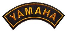 New Yamaha Motocross Racing embroidered iron on patch. 4.5 x 1.25 inch (i46)