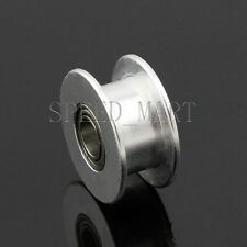 Smooth Idler Pulley With bore 4mm Bearing For width 6.5mm GT2 Timing belt