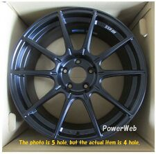 NEW SSR GT X01 17x7 4-100 +42 FLAT BLACK 17inch *1rim price official