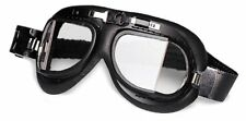 Occhiali Red Baron Goggle Biker Moto Old Style Sportster Dyna Softail Touring