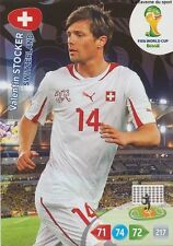N°296 VALENTIN STOCKER # SWITZERLAND PANINI CARD ADRENALYN WORLD CUP BRAZIL 2014