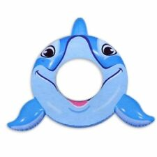"ClearWater 40"" Inflatable Dolphin Ring Swimming Pool Fun Float Tube Ages 3 & Up"