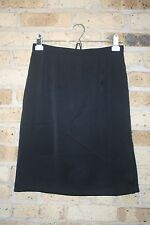 Bedo Skirt~7~Black~Satin look and feel~Pencil~Straight~Stretch