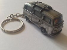VW Type 2 Van W/ Surf Boards ref296 FULL CAR on a split-ring keyring