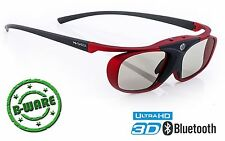 Aktive 3D Brille für 4k Full HD 3DTV von Sony, Samsung, Sharp, Panasonic