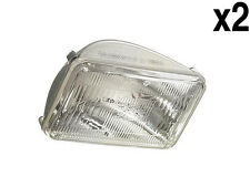 Volvo (79-89) Sealed HIGH Beam Headlight L+R (x2) OEM driving head lamp headlamp