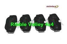 LAND ROVER DISCOVERY 2 TD5 and V8 MINTEX REAR BRAKE PADS SFP500130
