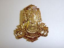 b0481 Vietnam Era Khmer Cambodia Cap badge 1960's-70's ir12b