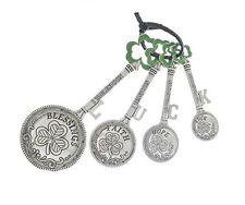 Ganz Measuring Spoons Set Colored shamrocks 4 Spoon set ER24040