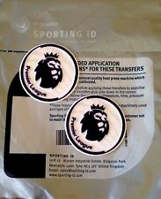 BABY-INFANT 2016-17 PREMIER LEAGUE Lextra SportingiD Football Badge Patch Set