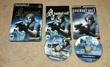 Resident Evil 4 Premium Edition Game/Steel Case/Bonus Disc Playstation 2 PS2