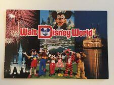 Vintage Postcard - Walt Disney #WDW-11800 - Posted 1988
