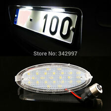 For OPEL Vauxhall Astra F Corsa B Vectra 1x Error Free LED License Plate Light