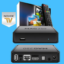 MAG 250 IPTV BOX HD Receiver Internet 1 Jahr Novoe TV Gratis 12 Monate ohne ABO