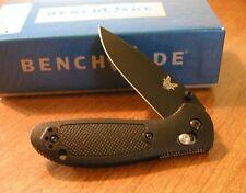 BENCHMADE New Mini Griptilian Black Plain Edge 154CM Blade Knife/Knives