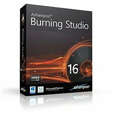 Ashampoo Burning Studio 16 dt. Vollversion ESD Download 18,99 statt 49,99 EUR