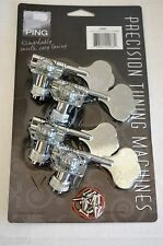"Ping Precision Tuning Machines Open ""F"" Style Chrome P2682 Bass Tuners"