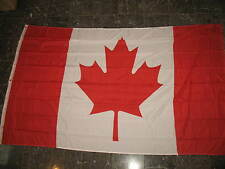 5x8 ft Canada Canadian Maple Leaf Country Flag Rough Tex Knitted 5'x8' Banner