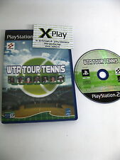 PS2 WTA Tour Tennis Muy Buen estado Pal España no manual