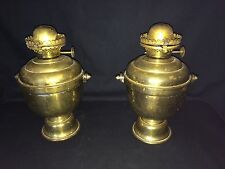 PAIR PERKO MARITIME SHIP WALL MOUNT BRASS KEROSENE OIL LAMP LANTERN THE MILLER C