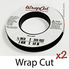 """WrapCut"" - 120m, fil de coupe film vinyl adhésif, covering, wrap, Filament Tape"