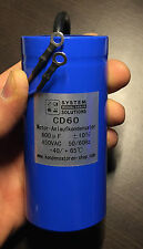 Motor capacitor/Starting capacitor/Start capacitor 50Hz 600uF/µF CD60 450 VAC