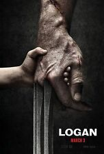 Logan Movie Poster (24x36) - Wolverine, Hugh Jackman, Doris Morgado v1