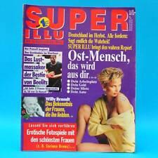 Super Illu 43-1992 | 15.10.1992 Bestie von Beelitz Willy Brandt Ein Tag Neonazi