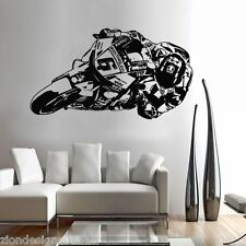 Stefan bradhl Wall Art 01motorcycle RACER Decalcomania Grafica Adesiva Unica