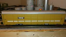 MTH O WEATHERED TTX Corrugated Auto Carrier car # 20-98539